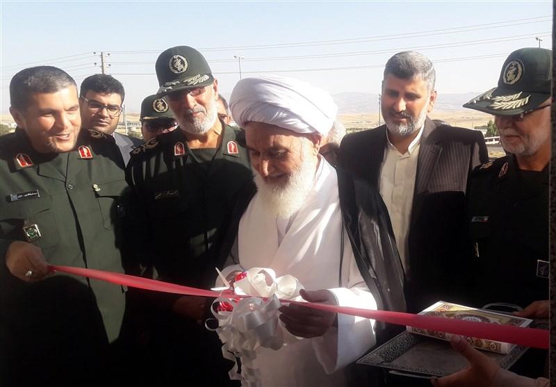 کرمانشاه| مسجد شهید دکامی به همت قرارگاه محرومیتزدایی سپاه افتتاح شد