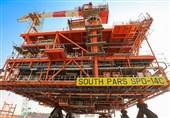 4 سکو و 2 زنجیره دریایی در فاز 14 میدان پارس جنوبی وارد مدار بهرهبرداری شد