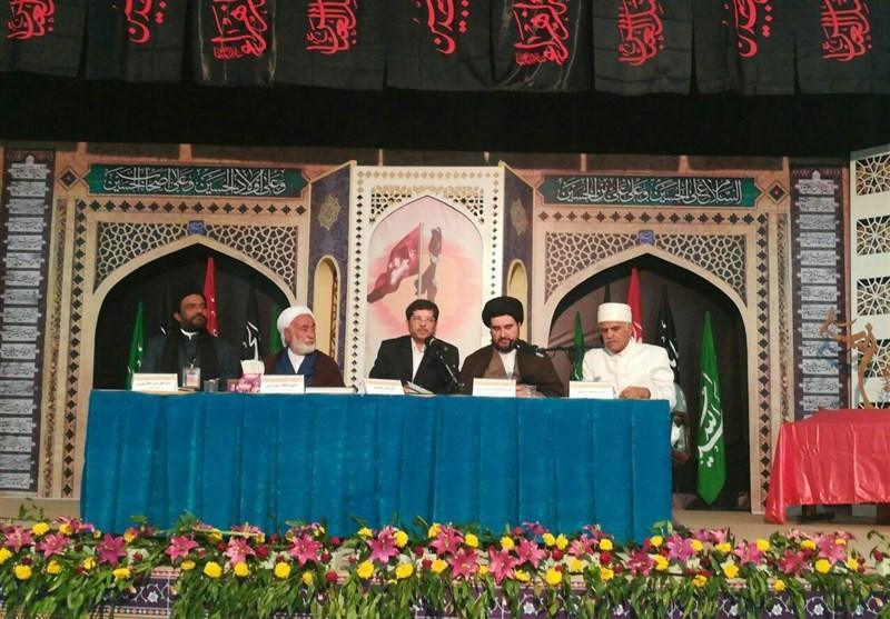 اجلاس جهانی پیرغلامان حسینی- خرم آباد| محبت اهل بیت(ع) دژی در مقابل توطئههای استکبار جهانی است