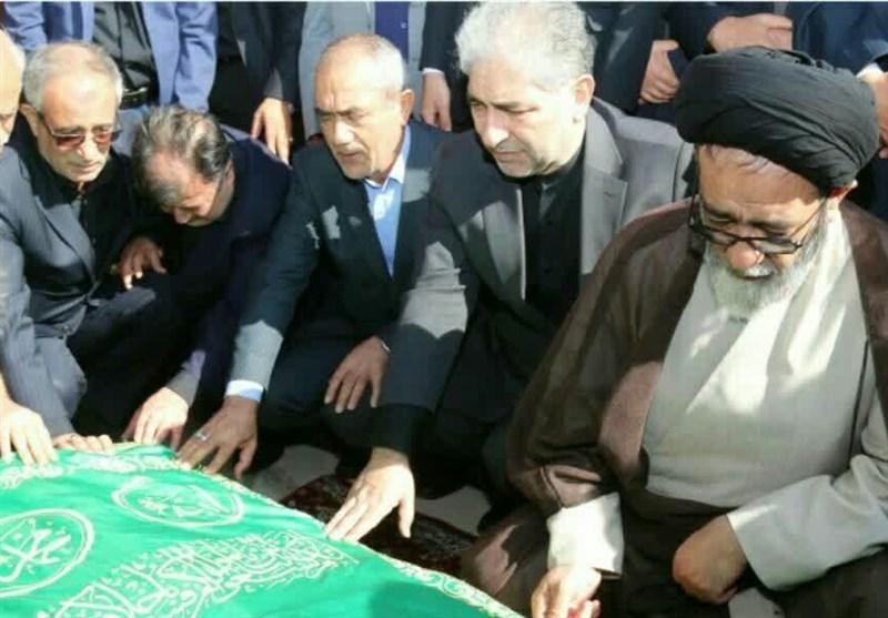 """تشییع """"پدر صنعت آذربایجان"""" با حضور معاونان وزرای کشور و صنعت در تبریز+تصاویر"""