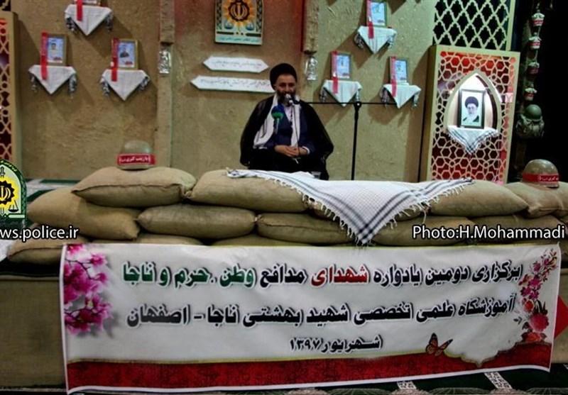 اصفهان| حجت الاسلام ادیانی: هراس دشمن از فرهنگ جهاد و شهادت است