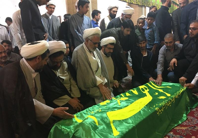 آئین تشییع پیکر حجتالاسلام عرفانشهرضایی در کرمان به روایت تصویر