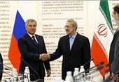 لاریجانی در روسیه: نَفَستروریستها در سوریه در حال تمام شدن است
