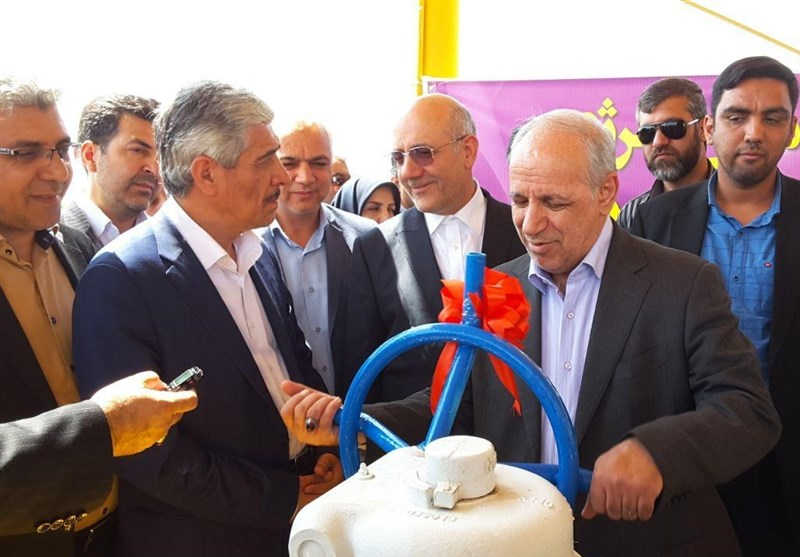 سمنان| خط تقویتی زیرساخت تأمین انرژی گاز حوزه مهدیشهر افتتاح شد