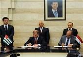 توقیع اتفاقیتی تعاون بین سوریا وأبخازیا