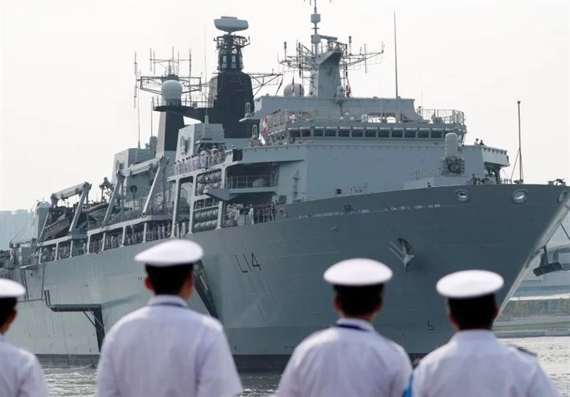 اظهار دوستی انگلیس با چین پس از مناقشه بر سر عبور کشتی نظامی