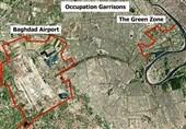 """""""منطقه امنیتی سبز"""" بغداد هدف خمپاره قرار گرفت"""