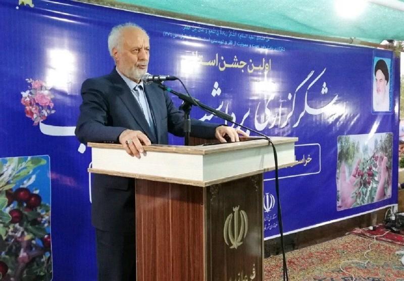 دبیرخانه دائمی جشنواره عناب خراسان جنوبی درخوسف دایر میشود