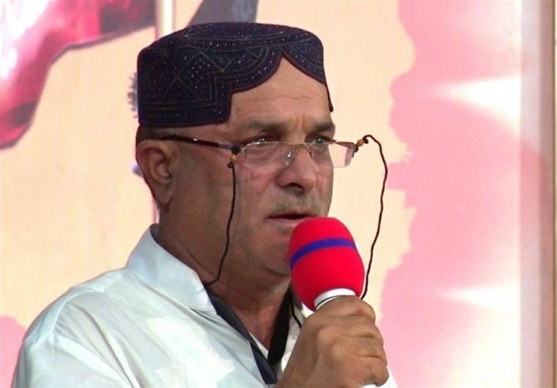 خرم آباد| مداحی پیرغلام هندی برای امام حسین(ع)+ فیلم