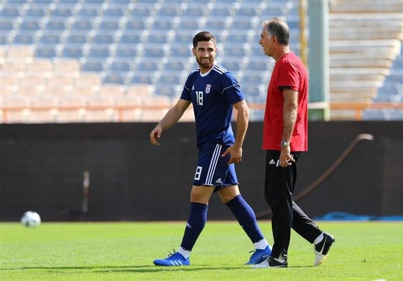جهانبخش: می توانستم در انگلیس بمانم اما اولویت برای من تیم ملی است/ انتظار میرفت بعد از جام جهانی برنامهریزیها و اردوها بهتر باشد