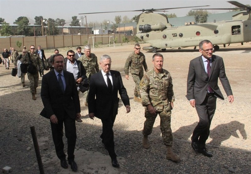 سفر غیرمنتظره وزیر دفاع و رئیس ستاد مشترک ارتش آمریکا به افغانستان