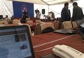استقرار خبرنگاران در مرکز رسانهای اجلاس سران برای پوشش نشست تهران+ تصاویر