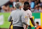 فوتبال جهان| پوگبا به شایعه اختلافش با مورینیو پایان داد