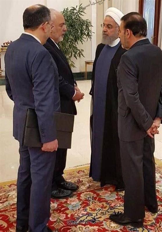 حاشیه نگاری تسنیم از اجلاس تهران گفتوگوی چهار مقام ایرانی قبل از شروع نشست + عکس
