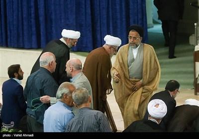 سید محمود علوی وزیر اطلاعات در نماز جمعه تهران
