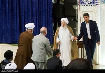آیت الله محمدعلی موحدی کرمانی در نماز جمعه تهران