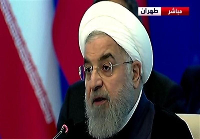 روحانی: التدخل الأمیرکی فی سوریا یضر بالحل السیاسی