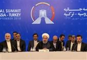 روحانی در نشست تهران: مبارزه با تروریسم در «ادلب» اجتنابناپذیر است