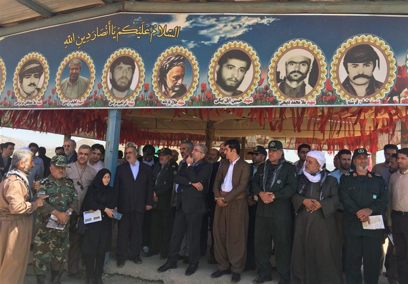 کردستان|بهرهبرداری از یادمان شهدای عملیات والفجر 4 در مریوان به روایت تصویر