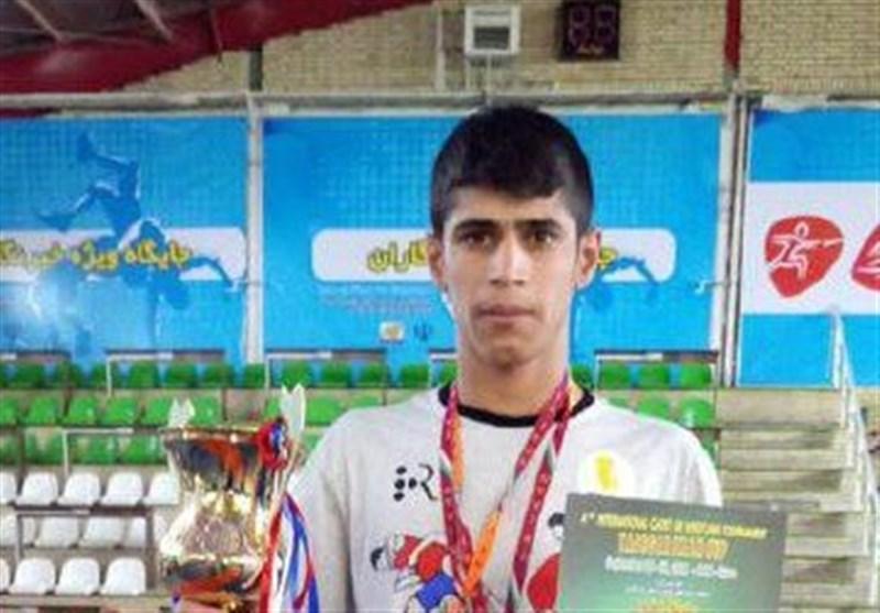 طلای بینالمللی کشتی فرنگی بر گردن کشتیگیر خوزستانی
