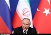 اجلاس تهران| پوتین در کنفرانس خبری: هدف ما اخراج تروریستها از سوریه است