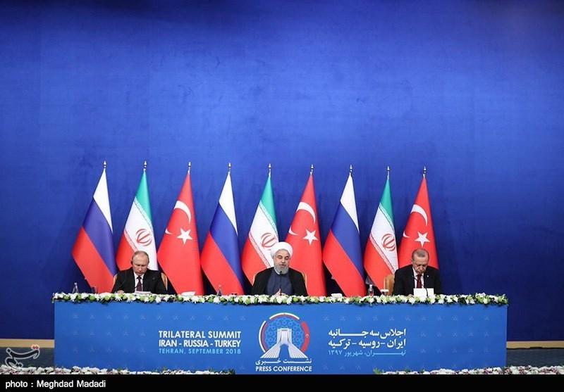 İşte Üçlü Zirvede Onaylanan 12 maddelik Tahran Bildirisi