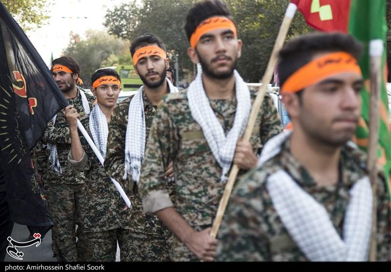 تجمع بزرگ رزمایش اقتدار عاشورایی در یزد به روایت تصویر