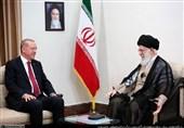 اردوغان با رهبر معظم انقلاب اسلامی دیدار کرد