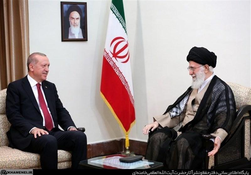 امام خامنهای در دیدار اردوغان: آمریکا از همکاری و نزدیکی کشورهای اسلامی و شکلگیری یک قدرت اسلامی نگران است