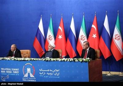 نشست سران کشورهای ایران، روسیه و ترکیه