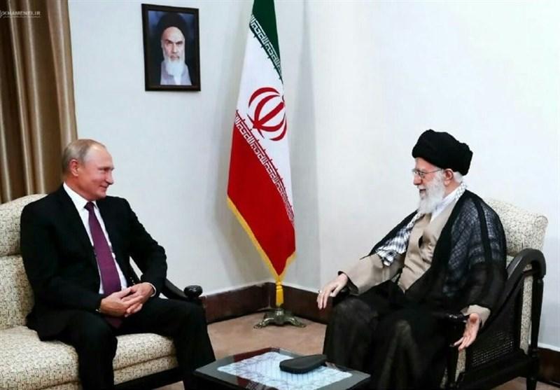 پوتین با امام خامنهای دیدار کرد