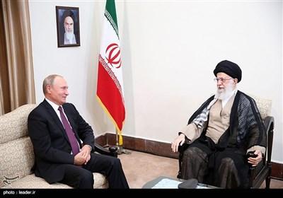 دیدار ولادیمیر پوتین رییس جمهور روسیه با رهبر معظم انقلاب
