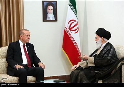 دیدار رجب طیب اردوغان رییس جمهور ترکیه با رهبر معظم انقلاب