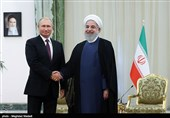 دیدار رؤسای جمهور ایران و روسیه