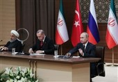 مصارحة على الهواء بین زعماء إیران وروسیا وترکیا بشأن إدلب