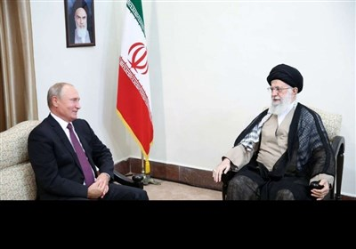 روسی صدر ولادیمیر پوتین کی رہبر انقلاب اسلامی ایران سے ملاقات