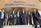 """مرکز خدمات جامع سلامت روستای """"مرگنلر"""" با حضور وزیر بهداشت افتتاح شد"""