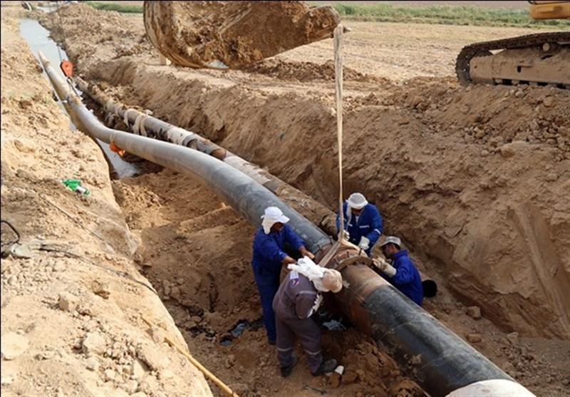بوشهر| ظرفیت انتقال آب به شبکه آبرسانی شهرهای دشتستان افزایش یافت