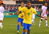 فوتبال جهان| پیروزی برزیل مقابل آمریکا در یک بازی دوستانه/ آرژانتین بدون مسی و با گل پسر سیمئونه برد