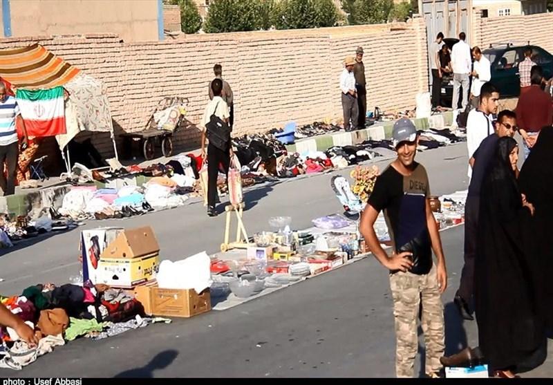 گرانی به بازار روز دستفروشان و ارزانفروشان ارومیهای هم رحم نکرد+ فیلم