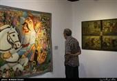 از نقاشی اهلبیت(ع) تا ماجراهای شاهنامه در یک نمایشگاه + عکس