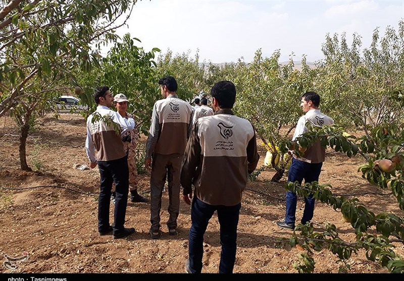 مشاوره جهادگران نور امید را در دل کشاورزان شهرکرد روشن کرد+تصاویر