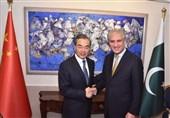 پاکستان اور چین کے وزراء خارجہ کی ملاقات