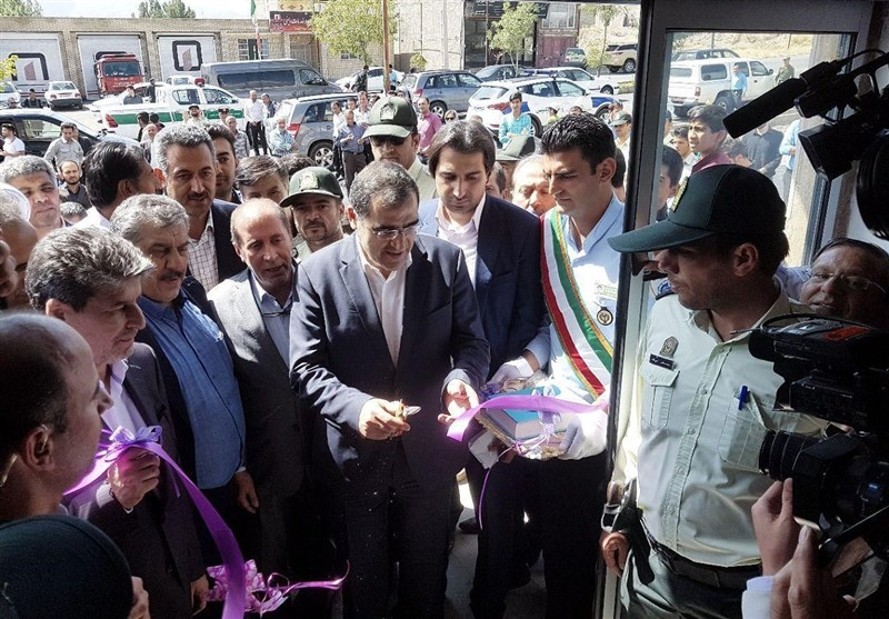 وزیر بهداشت مرکز خدمات جامع سلامت شهر مرزی چالدران را افتتاح کرد