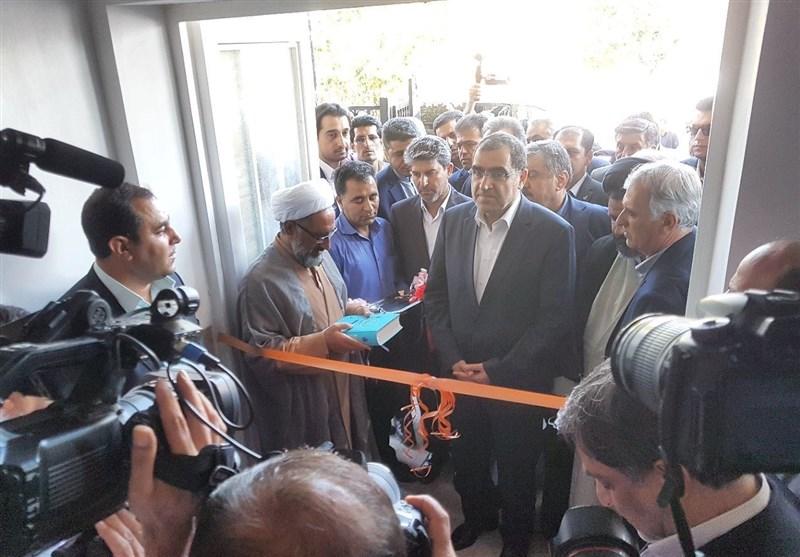 مرکز خدمات جامع سلامت شهرستان شوط با حضور وزیر بهداشت افتتاح شد