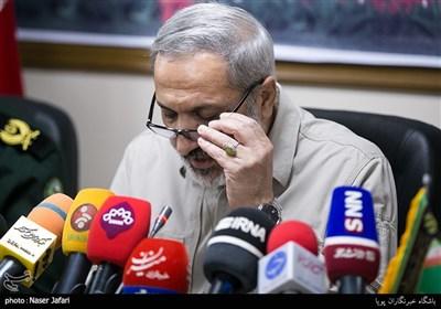 نشست خبری تشییع پیکر مطهر 135 شهید دفاع مقدس
