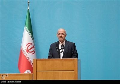 سخنرانی جمشید انصاری رییس سازمان اداری و استخدامی کشور در چهاردهمین جشنواره شهید رجایی