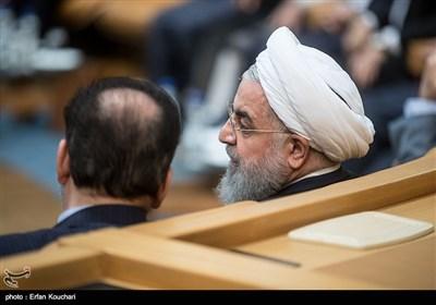 حسن روحانی رئیس جمهور در چهاردهمین جشنواره شهید رجایی