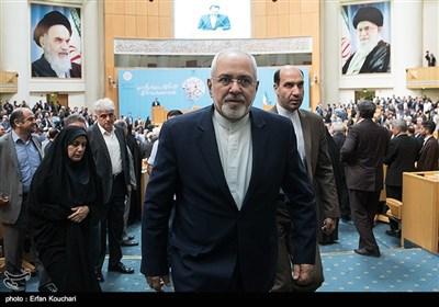 محمد جواد ظریف، وزیر امور خارجه در چهاردهمین جشنواره شهید رجایی