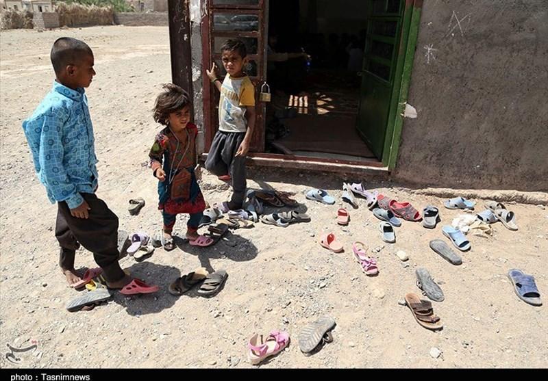 کرمان| مرهم گروههای جهادی بر زخم محرومیت در ریگان + تصاویر